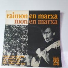 Discos de vinilo: RAIMON EN MARXA - D'UN TEMPS, D'UN PAIS/AHIR/QUATRE RIUS DE SANG/ CANTAREMOS LA VIDA,CONCENTRIC 1967. Lote 227578020