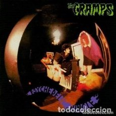Discos de vinilo: THE CRAMPS ‎– PSYCHEDELIC JUNGLE -LP/ BLACK-. Lote 256120360