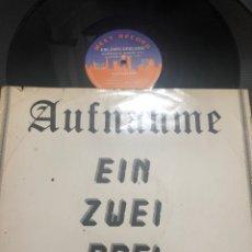 Discos de vinilo: AUFNAHME – EIN, ZWEI, DREI, VIER. Lote 227583565