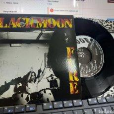 Discos de vinilo: BLACKMOON FIRE EP AGH + 2 1992 EN PERFECTO ESTADO. Lote 227592745