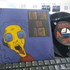 Discos de vinilo: BLOOD FILLOAS VERSUS FROGGER EP SUBTERFUGE 1996 EN PERFECTO ESTADO. Lote 227598145