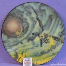 """Discos de vinilo: IRON MAIDEN - FLIGHT OF ICARUS - MAXI SINGLE 12"""", PICTURE DISC, 45 RPM. Lote 227592645"""