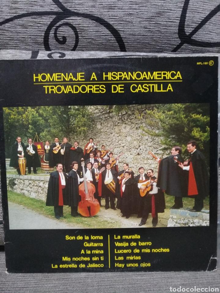 HOMENAJE A HISPANOAMERICA - TROVADORES DE CASTILLA (Música - Discos de Vinilo - Maxi Singles - Étnicas y Músicas del Mundo)