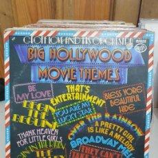 Discos de vinilo: BIG HOLLYWOOD MOVIE THEMES. Lote 227623640