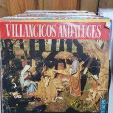 Discos de vinilo: VILLANCICOS ANDALUCES. Lote 227623915