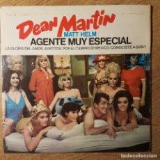 Discos de vinilo: DISCO EP DEAN MARTIN. MATT HELM. AGENTE MUY ESPECIAL. Lote 227623939