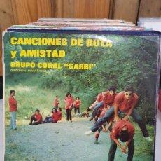 Discos de vinilo: CANCIONES DE RUTA Y AMISTAD. Lote 227627220