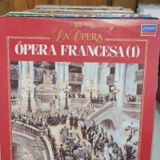 Discos de vinilo: OPERA FRANCESA. Lote 227627435