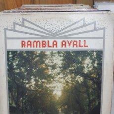 Discos de vinilo: RAMBLA AVALL. Lote 227627455