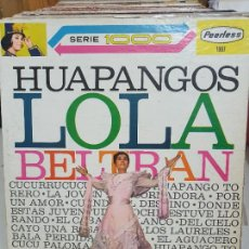 Discos de vinilo: LOLA BELTRAN. Lote 227628040