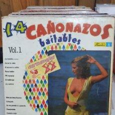 Discos de vinilo: 14 CAÑONAZOS. Lote 227628415