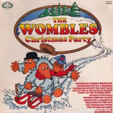 "Discos de vinilo: LP""CHRISTMAS PARTY"" -THE WOMBLES- ORIG. ANALÓGICO UK 1976-""ESPECIAL NAVIDAD"". Lote 227632980"