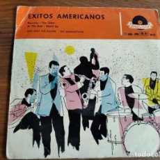 Discos de vinilo: MAX & THE MAXIES - THE MANHATTANS - EXITOS AMERICANOS ************ RARO EP ESPAÑOL 1958. Lote 227633680