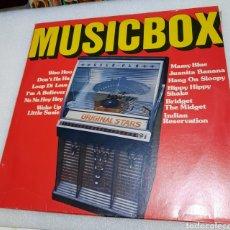 Discos de vinilo: MUSIC BOX - RECOPILATORIO. 50'S-60'S. Lote 227633705
