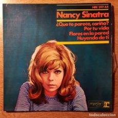 Discos de vinilo: DISCO EP NANCY SINATRA. ¿QUÉ TE PARECE CARIÑO?. REPRISE. Lote 227635490