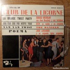 Discos de vinilo: DISCO EP CLUB DE LA LICORNE. LA GRANDE TWIST PARTY. BARCLAY. Lote 227638010