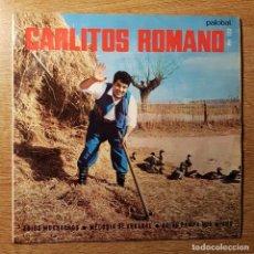 Discos de vinilo: DISCO EP CARLITOS ROMANO ADIOS MUCHACHO. Lote 227639465