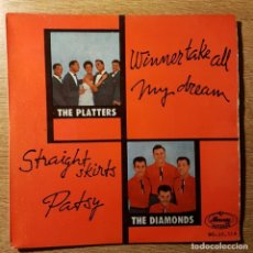 Discos de vinilo: DISCO EP THE PLATTERS THE DIAMONDS. MERCURY. Lote 227640150