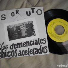 Disques de vinyle: EP ESKORBUTO DEMENCIALES CHICOS PRIMERA EDICIÓN 1986 DISCOS SUICIDAS - VINILO EXE +++ - PUNK. Lote 227640985