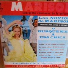 Discos de vinilo: LP DE FLORIDA MARISOL LOS NOVIOS DE MARISOL Ò BUSQUEME A ESA CHICA - TYPICAL SPANSIH. Lote 227662100