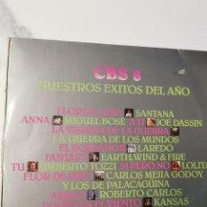 Discos de vinilo: CBS 8 - NUESTROS EXITOS DEL AÑO. Lote 227671260