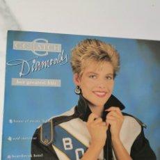 Discos de vinil: C.C. CATCH - DIAMONDS. Lote 227671515