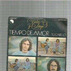 Discos de vinilo: VICTOR Y DIEGO TIEMPO DE AMOR. Lote 227680956