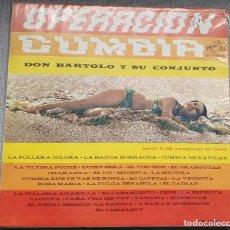 Discos de vinilo: DON BARTOLO Y SU CONJUNTO. OPERACION CUMBIA. RCA CHILE 1966. Lote 227681520