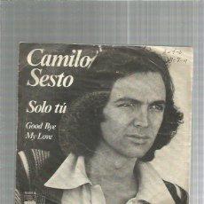 Discos de vinilo: CAMILO SESTO SOLO TU. Lote 227682214