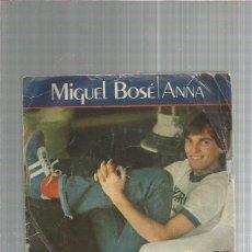 Discos de vinilo: MIGUEL BOSE ANNA. Lote 227682845