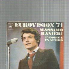 Discos de vinilo: MASSIMO RANIERI. Lote 227684395