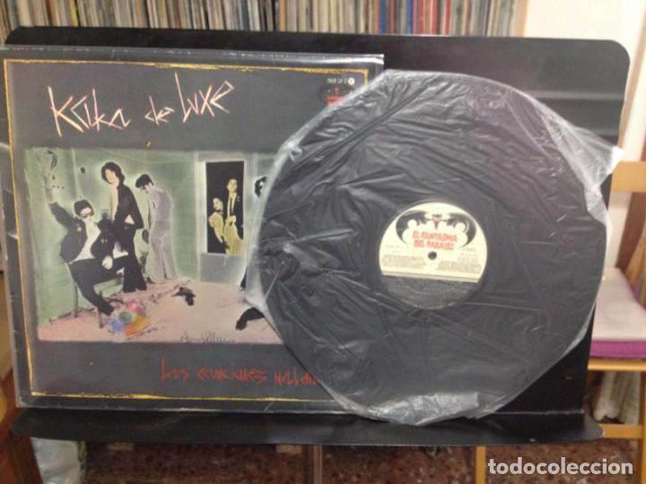 Discos de vinilo: KAKA DE LUXE - LAS CANCIONES MALDITAS / LP ED. ORIGINAL 1983 - FAN LP 1 / NM/VG+ - Foto 3 - 227684515