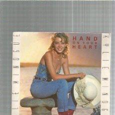 Discos de vinilo: KYLIE MINOGUE HAND ON YOUR. Lote 227685145