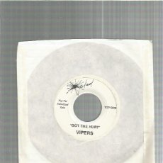 Discos de vinilo: VIPERS GOT THE HURT (REVIVAL GARAGE 80) + REGALO SORPRESA. Lote 227694215