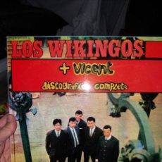 Discos de vinilo: LOS WIKINGOS LP DIFÍCIL. Lote 227698525