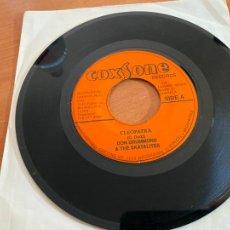 Discos de vinilo: DON DRUMMOND SKATALITES, ROY & TINY (CLEOPATRA & I MEAN IT) SINGLE JAMAICA (EPI20). Lote 227700990
