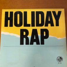 "Discos de vinilo: HOLIDAY RAP - M.C. MIKER ""G"" & DEEJAY SVEN. Lote 227701890"