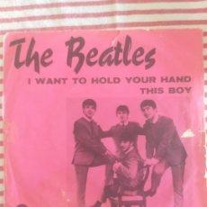 Discos de vinilo: THE BEATLES. THIS BOYS. Lote 227705635