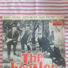 Discos de vinilo: THE BEATLES. BOYS, LOVE ME DO. Lote 227705930