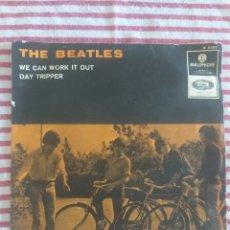 Discos de vinilo: THE BEATLES. WE CAN WORK IT PUT. Lote 227706355