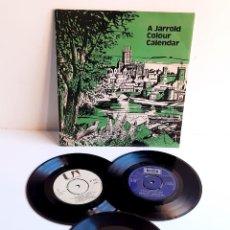 Discos de vinilo: 2 VINILOS 45 RPM + 1 DE 33 1/2 RPM. Lote 227717285