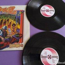 Discos de vinilo: GENIAL DOBLE LP ORIGINAL. ZETA - GUATEQUE. HIP-HOP NACIONAL. AÑO 1999. SELLO TU PIERDES TP-0018.. Lote 227731645