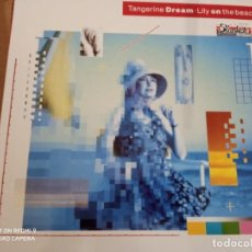 Disques de vinyle: TANGERINE DREAM LILY ON THE BEACH LP. Lote 227733730