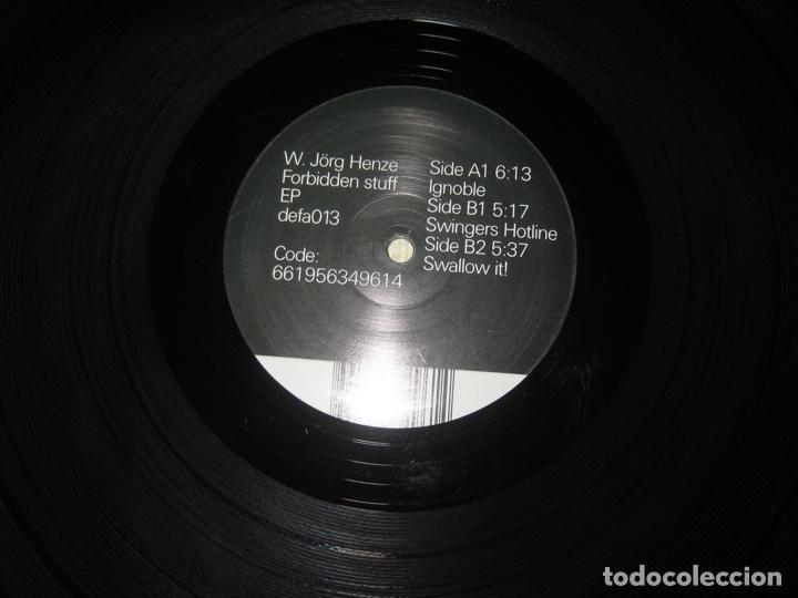Discos de vinilo: W.Jörg Henze– Forbidden Stuff - Foto 3 - 227746715