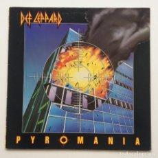 Discos de vinilo: DEF LEPPARD – PYROMANIA NETHERLANDS,1983 VERTIGO. Lote 257544880