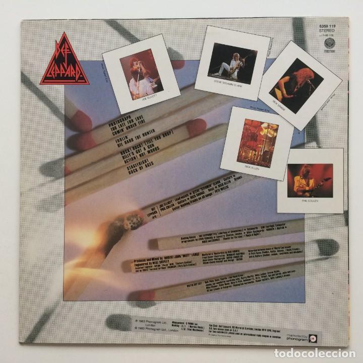 Discos de vinilo: Def Leppard – Pyromania Netherlands,1983 Vertigo - Foto 2 - 257544880