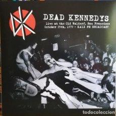 Discos de vinilo: DEAD KENNEDYS *LIVE OLD WALDORF 1979 * LTD 500 COPIAS!!!! PRECINTADO * KALX FM BROADCAST. Lote 227756780