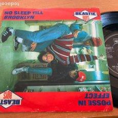 Disques de vinyle: THE BEATLES ( (NO SLEEP TILL BROOKLYN) SINGLE 1986 (EPI20). Lote 227768450