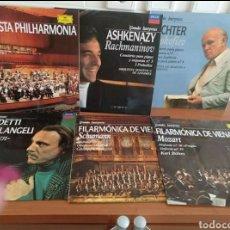 Discos de vinilo: LOTE 6VINILOS MÚSICA CLÁSICA. Lote 227783260