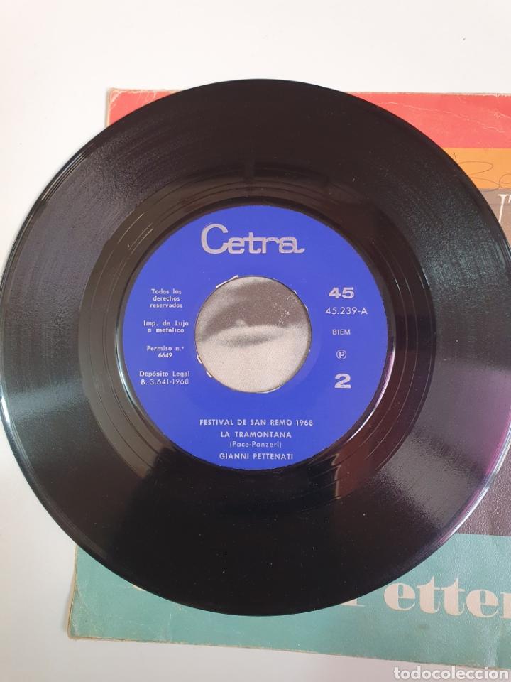 Discos de vinilo: Festival De San Remo 1968 - Sergio Enrico, Canzone Per Te/Gianni Pettenati, La Tramontana. - Foto 4 - 227797485